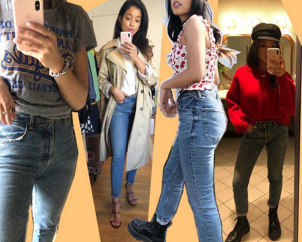 Tiana in the MVS Skinny Jean.