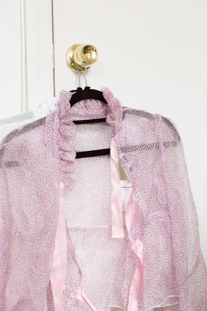 Aurore Van Milhem blouse.