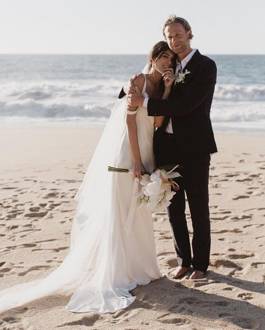 Neada and her partner's Sayulita, Mexico wedding.