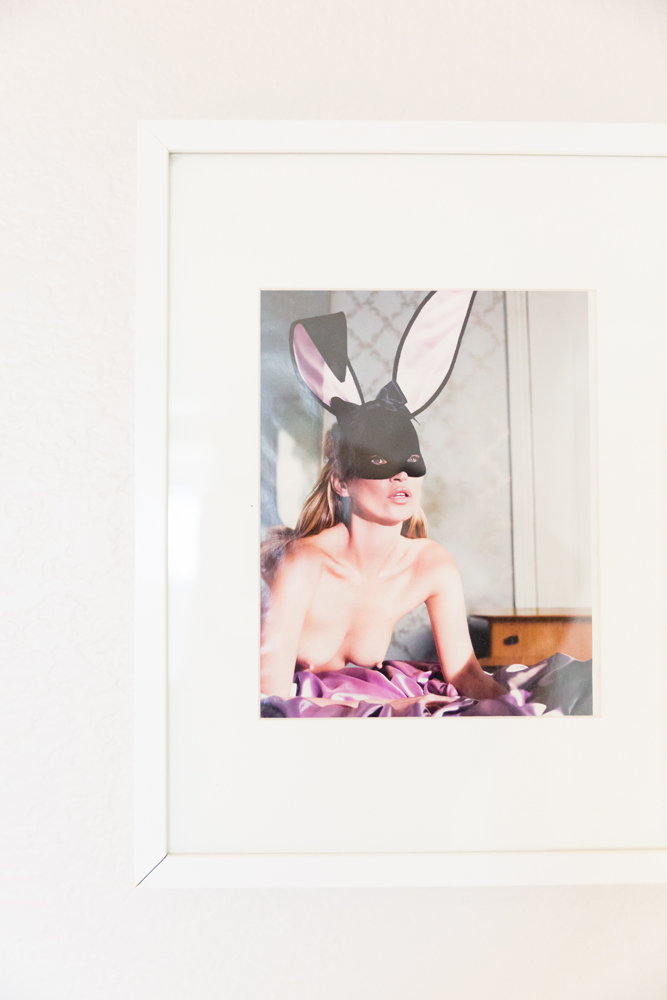 Photograph of Kate Moss.
