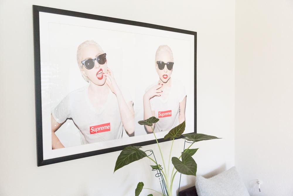 Lady Gaga Supreme print.