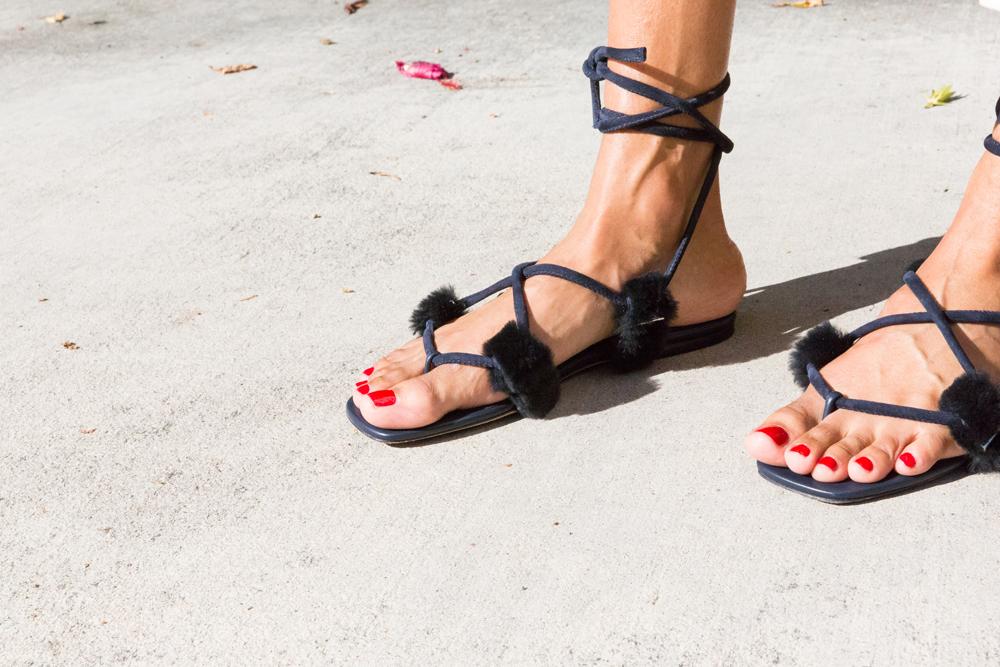 Rosetta Getty Sandals.