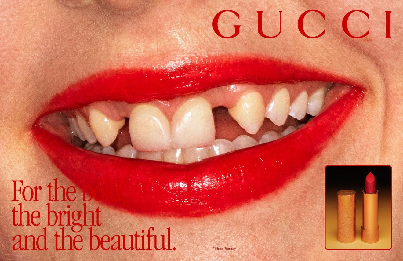 Campaign image courtesy of Gucci.