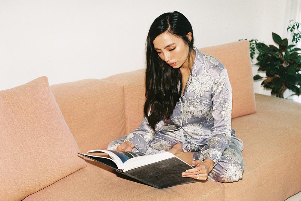 Pajamas by Olivia Von Halle.