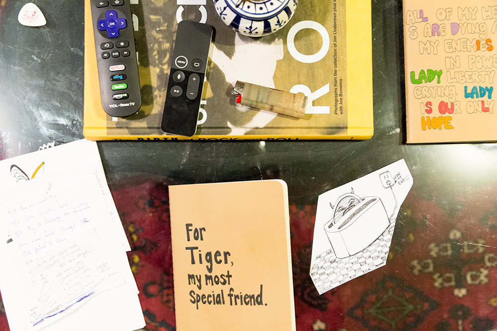 A journal for Tiger.