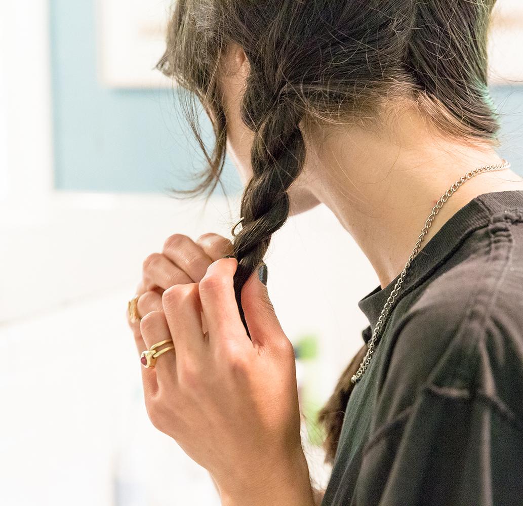 Hair hoops.