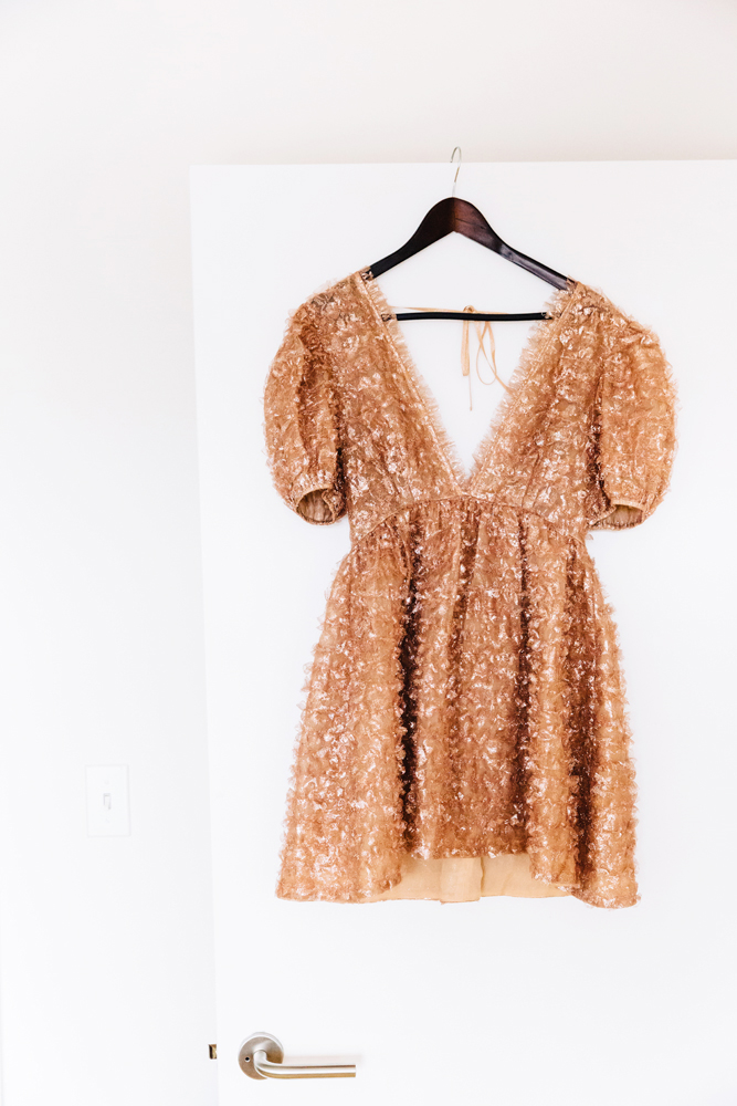 Ulla Johnson dress. Call to inquire.