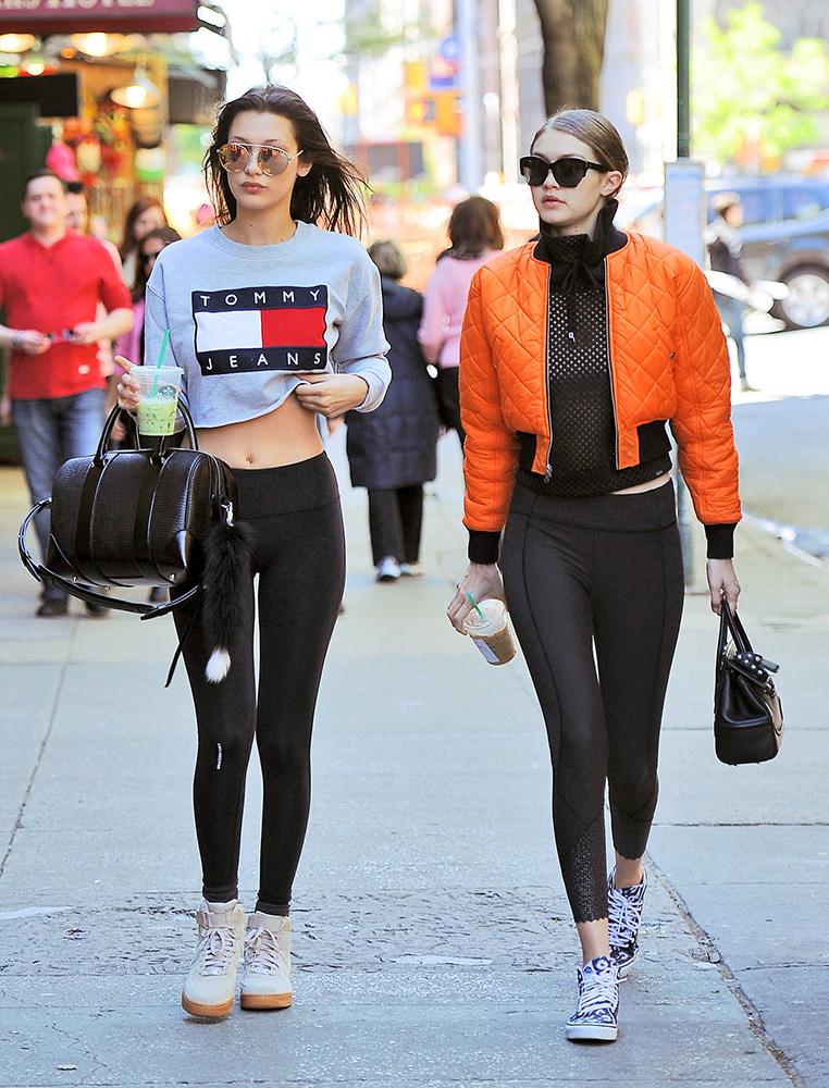 Bella and Gigi Hadid.