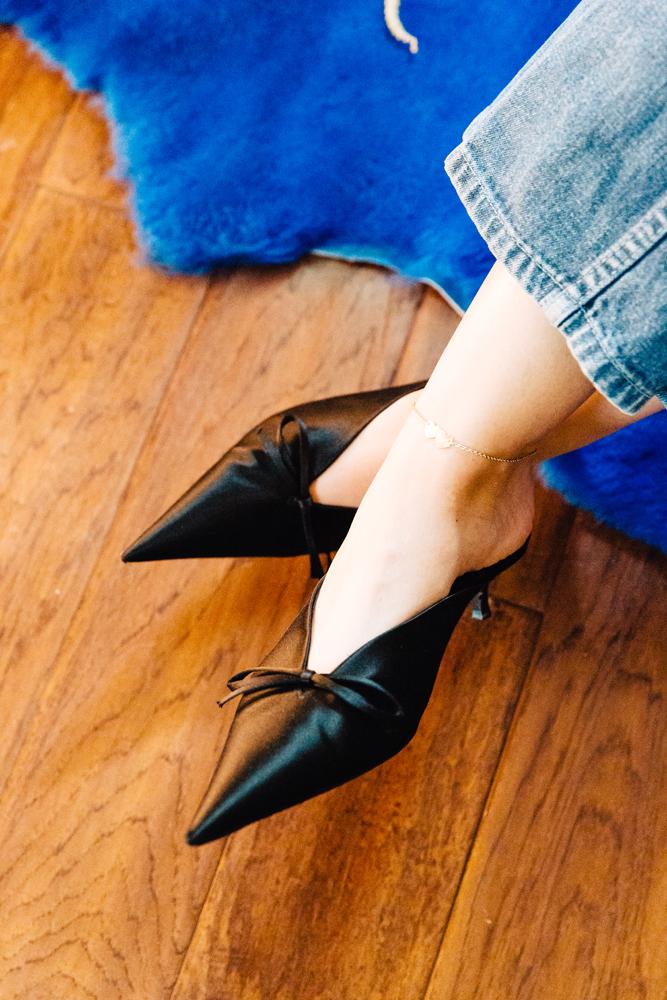 Balenciaga Kitten Heels.